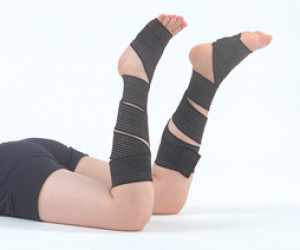 纏繞式美腿保健帶