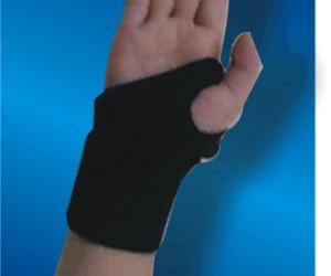 黑色纏繞護腕